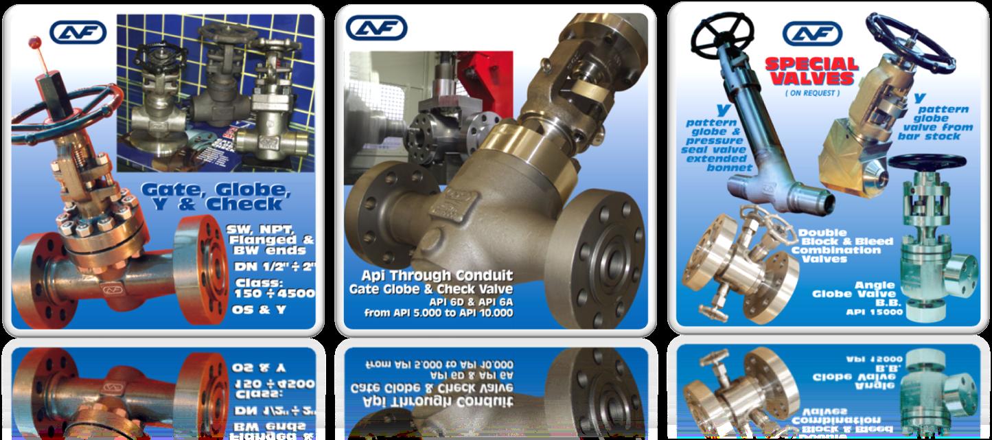Gate valve, Globe valve, Check valve, through conduite, pattern globe, api through conduit gate valve, globe valve and check valve, double block and bleed Valve